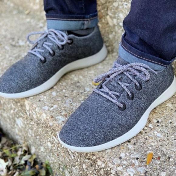 Allbirds Men Wool Runners Sneakers Sz 1